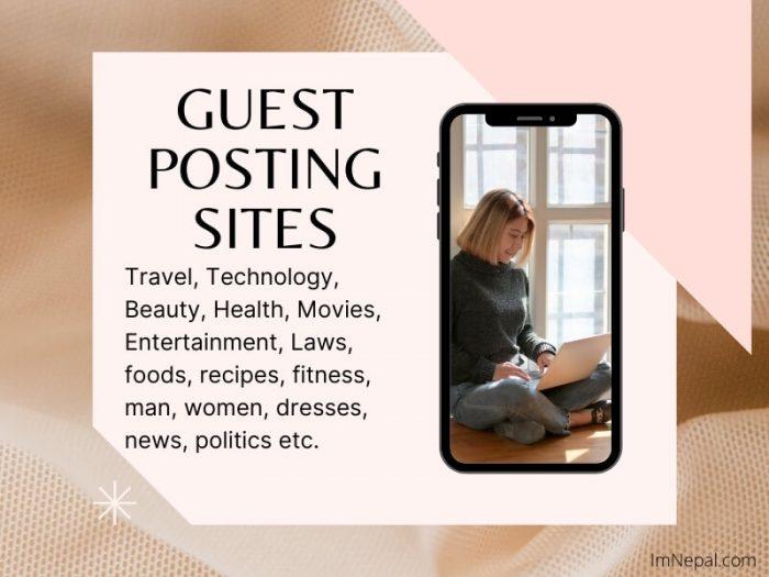 Guest Posting Sites Guest Post websites