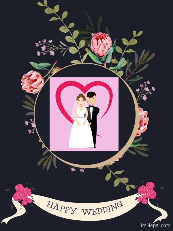 Happy Wedding Wishes In English To Your Whatsapp Friends and Groups