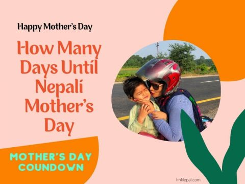 How many days until Nepali mother's day countdown