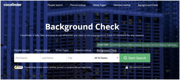 cocofinder Run a Background Check on Yourself
